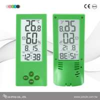 Tabletop Transparent LCD Display Alarm Clock With Calendar  Manufacturer
