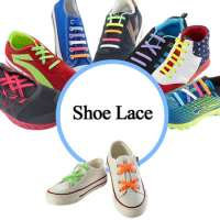Lazy No Tie Silicone Shoe lace Kids and Adults Tieless Elastic Slip Sneaker Shoelace Running Shoelace Athletic Manufacturer