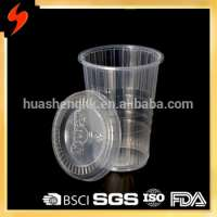 Customized Plastic 9oz Jelly Sweets Cup Lid