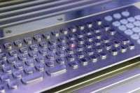Inscribed keyboard Manufacturer
