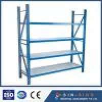 Warehouse Storage Medium Duty Pallet Rack System Longspan Shelving Manufacturer