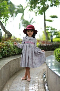 b60bfeb4ed Girl Frock Design Hand Smocked Children Girl Dress Cotton From GARDEN ROSES  TRADING COMPANY LIMITED