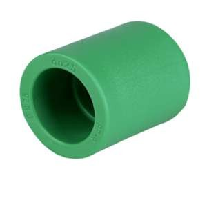 Coupling Equal / Reducing Shape Polypropylene Pipe Fittings Din 8077 / 8078 20mm - 160mm