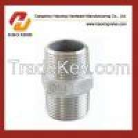 Stainless Steel pipe fittings Hex nipple Manufacturer