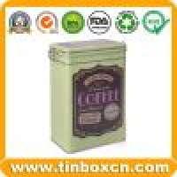 Coffee tin coffee box coffee can food tin box cookies tin packaging Manufacturer