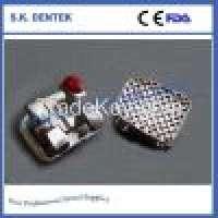 Dental orthodontic bracket dental brace sapphire bracket ceramic bracket metal bracket Manufacturer