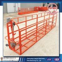 safe 400kgs capacity suspended platform construction cradle window cleaning gondola lift platform