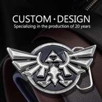 Metal 3D Die Casting Designer Belt Buckles Men