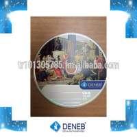 CD R Deneb Serigraph Printed Blank Disc