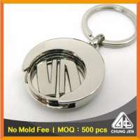 Metal Trolley Coin Keyrings Gift Apparel Manufacturer