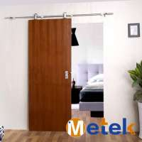Hung stainless steel wood barn sliding doors Manufacturer