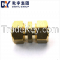 F1 Brass compression fitting equal strainght union Manufacturer
