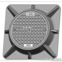 FRP Round Manhole Cover Power GridSubstationSMC materialDual La