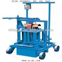 ZCJK40A egg laying block making machine / hollow block machine