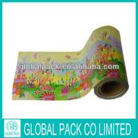 colorful printed Flexible packaging plastic roll film foodgift Manufacturer