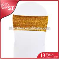 gold sequins chair sashes Manufacturer