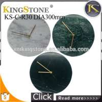 Kingstone Decorative Marble Wall Clock Home Decor KSCR30 Manufacturer