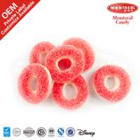 5145 Strawberry Flavor Jelly Sweets Sour Coated