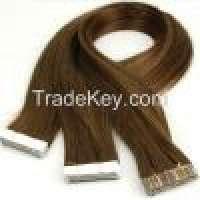 PVC Protective Tape and Keratin Tape Human Hair Skin Weft Tape Hair PU Manufacturer