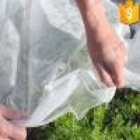 white color and AntiUV2 treatment 15gsm pp spunbond nonwoven fabric agriculture ground cover pp spunbond nonwoven Manufacturer