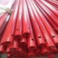 Vinyl resin FRP pultruded round tube profiles  Manufacturer