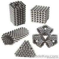 Sintered NdFeB magnetic balls buckyballs Nickel golden silver black Manufacturer