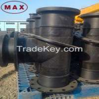 PN10 HDPE Pipe Fittings Water Gas and Drainage  Manufacturer