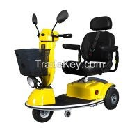 3 Wheels Handicapped Electric Scooter Adults Yellow