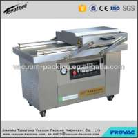 frozen chicken wings automatic double chamber vacuum packing machine or plastic bag sealing machine CE certificate Manufacturer