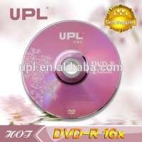 upl blank DVDR 16X 47GB 120min DVD in  Manufacturer