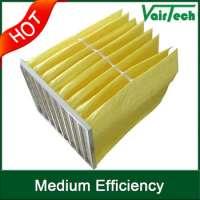 HVAC efficient Industrial filter air filter mediumbag filter f8