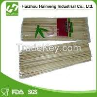disposable and BBQ bamboo skewer Manufacturer