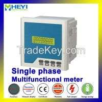 Rhd2y lcd single phase multi function monitor digital power meter rs485 active reactive power  Manufacturer