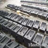 Blue stone wash basin &amp sink lime stone basin Manufacturer