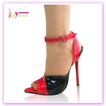 21cf78a757c Pu Leather Ladies Pencil High Heel Women Sandals From Shantou Chengguo  Trading Co.