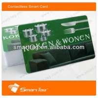 RFID plastic NFC business cards