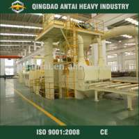 steel plate abrasive cleaning blasting equipment
