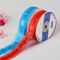 Jacquard Ribbons Hair Bows Manufacturer