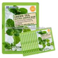 Foodaholic 3d Natural Essence Green Tea Mask_10sheets Manufacturer