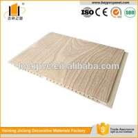 Wood grain laminated PVC False Ceiling