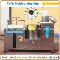 Automatic Tofu Production Lin Soya Milk Paneer Making Machine