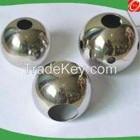 high polished Decorative Stainless Steel punching balls holes Manufacturer