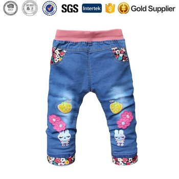 6572c94256 Cartoon Cute Baby Girl Clothes Trousers kids cargo pants