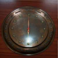 Copper Decorative Clock
