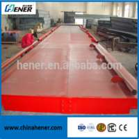 Scs 3*18m 100t weighbridge truck scales Manufacturer