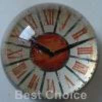 Clock Design Glass Domed Paperweight Manufacturer