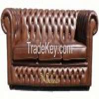 Chesterfield 3 Seater Antique Tan Leather Sofa Settee Offer Manufacturer