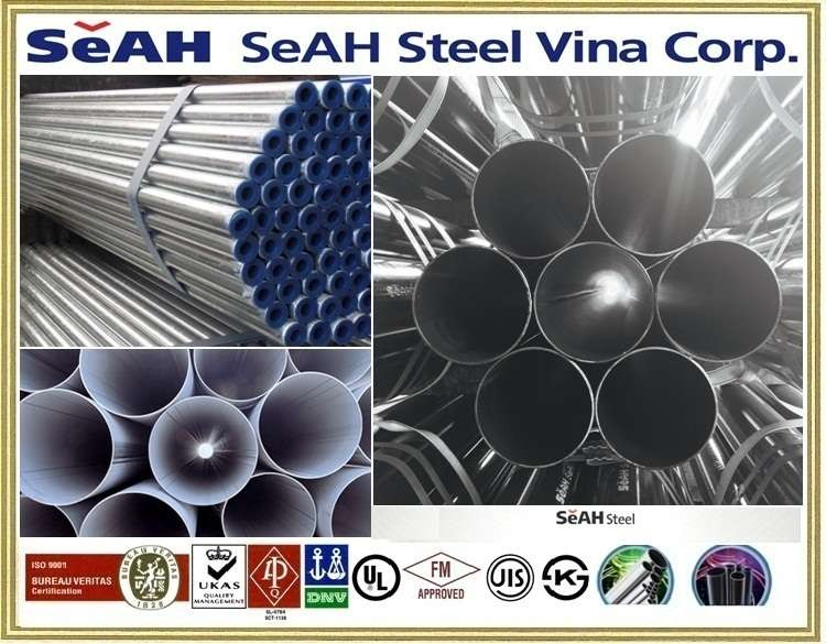 GALVANIZED STEEL PIPE - SEAH PIPE