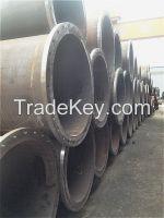 LSAW steel pipe welded flange