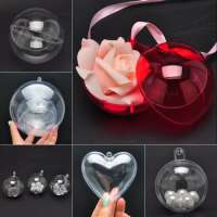 Christmas Decoration Plastic Transparent Ball Manufacturer